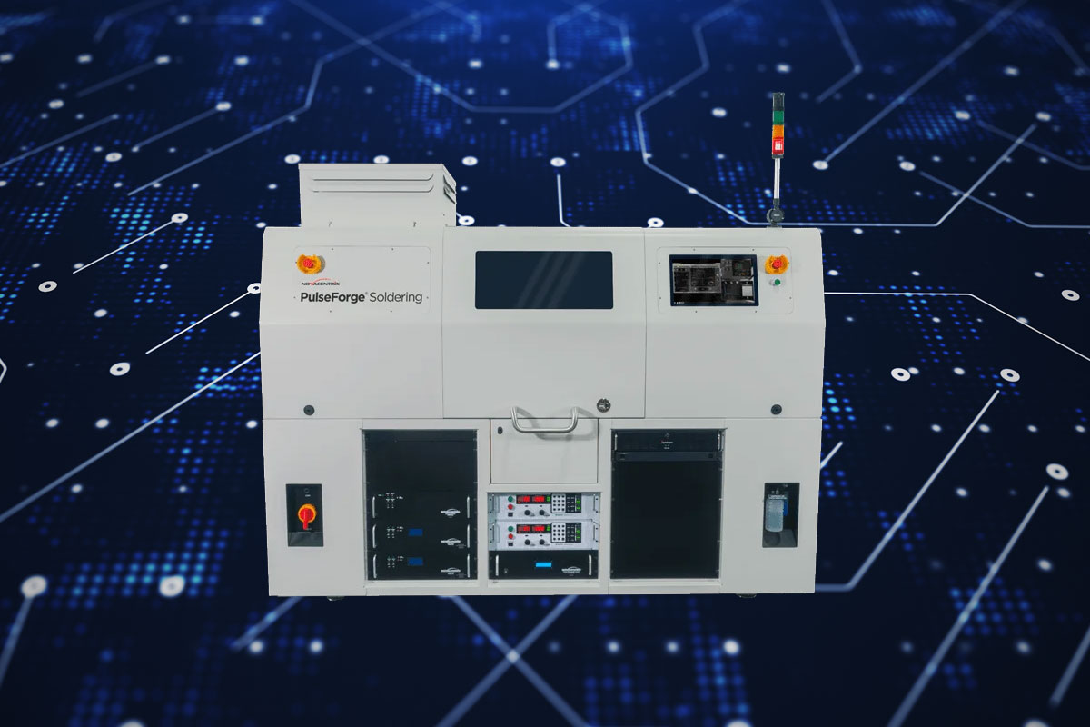 NovaCentrix to Show PulseForge Soldering Batch & In-Line Solutions During APEX Virtual EXPO