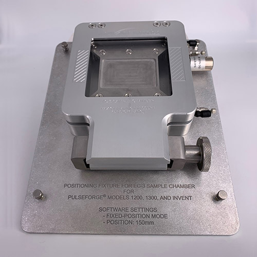 EC-3 Sample Chamber Front View